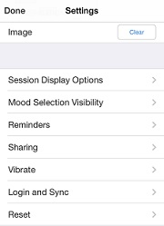 settings view image